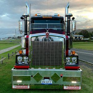 Murrells front of rig